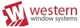 Western Windows logo